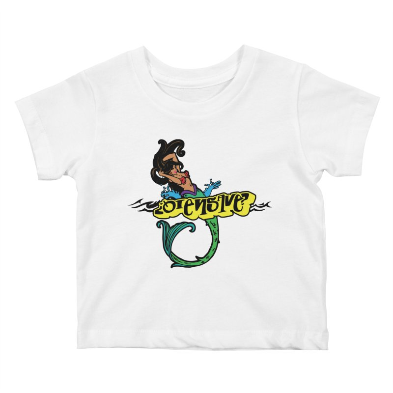 Sirena Kids Baby T-Shirt by Qiensave Merchandise