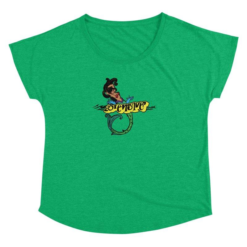 Sirena Women's Dolman Scoop Neck by Qiensave Merchandise