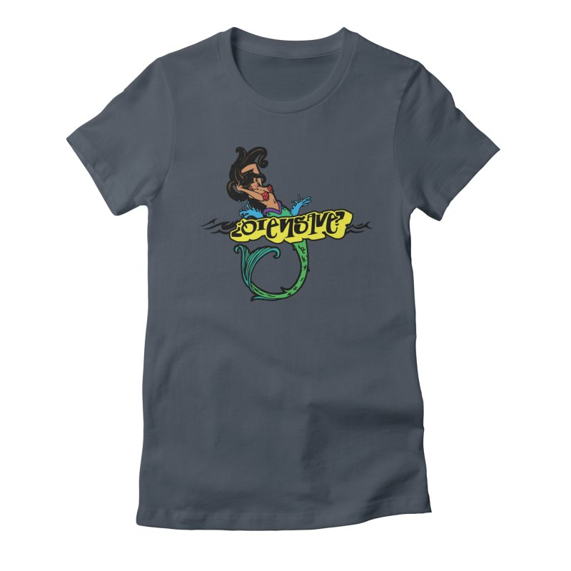 Sirena Women's Fitted T-Shirt by Qiensave Merchandise