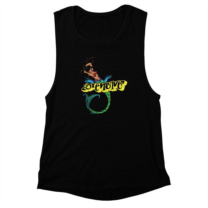 Sirena Women's Muscle Tank by Qiensave Merchandise