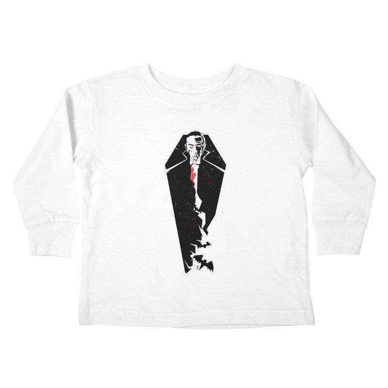 Dracula Kids Toddler Longsleeve T-Shirt by quadrin's Artist Shop
