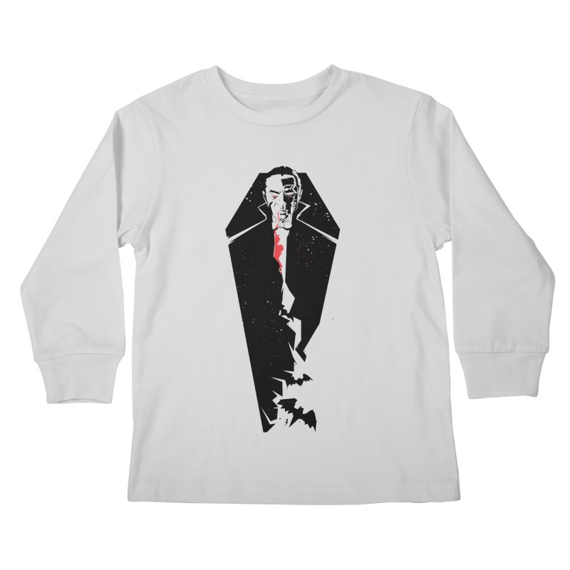 Dracula Kids Longsleeve T-Shirt by quadrin's Artist Shop