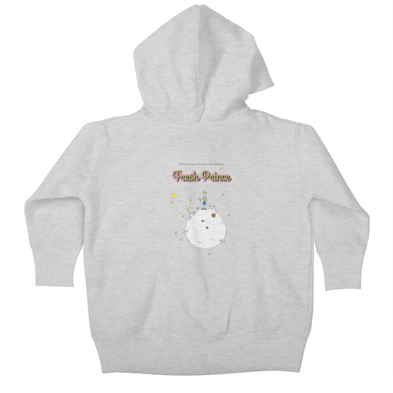 The Little Fresh Prince of Bel Air Kids Baby Zip-Up Hoody by quadrin's Artist Shop