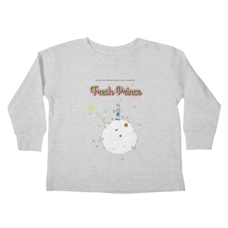 The Little Fresh Prince of Bel Air Kids Toddler Longsleeve T-Shirt by quadrin's Artist Shop