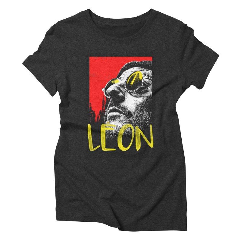 Léon Women's Triblend T-Shirt by quadrin's Artist Shop