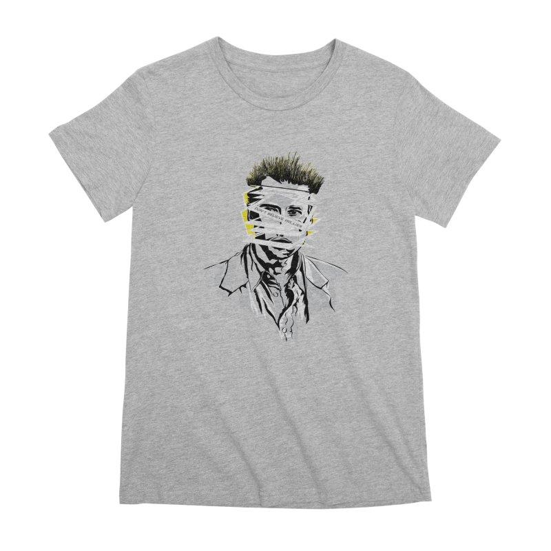 Memento Women's Premium T-Shirt by quadrin's Artist Shop