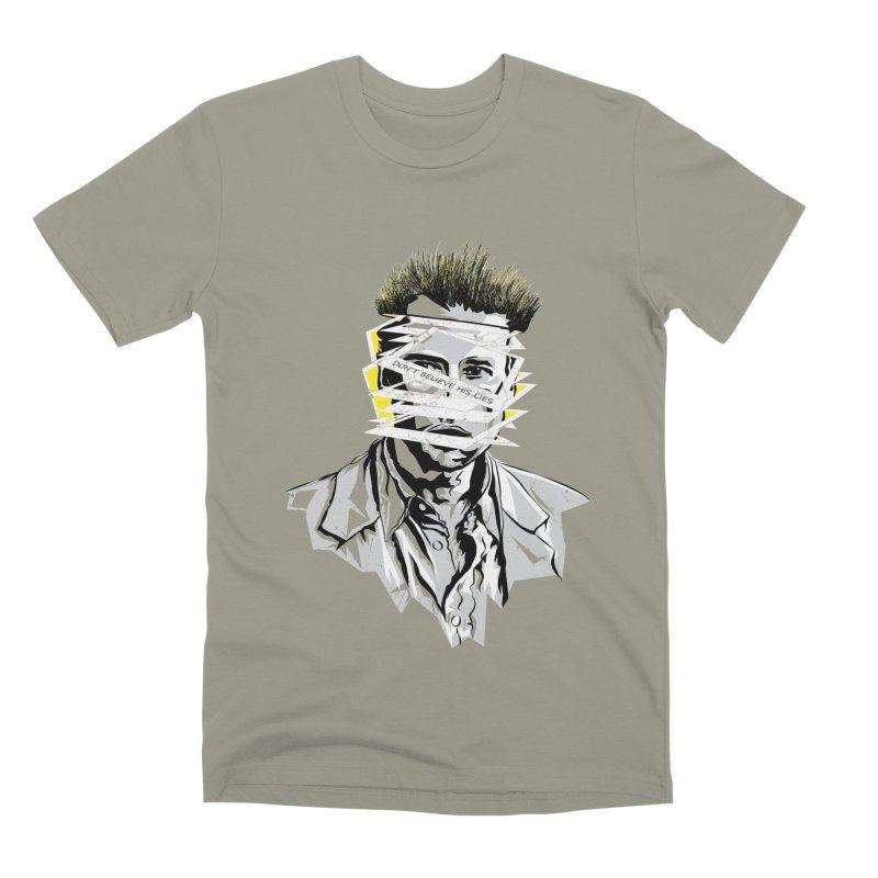 Memento Men's Premium T-Shirt by quadrin's Artist Shop