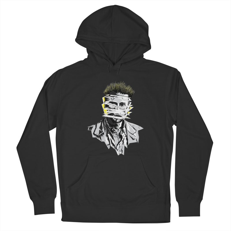 Memento Men's French Terry Pullover Hoody by quadrin's Artist Shop