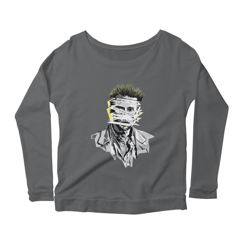Memento Women's Scoop Neck Longsleeve T-Shirt by quadrin's Artist Shop