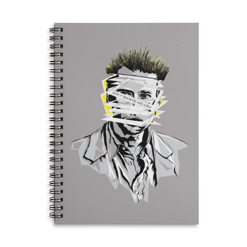 Memento Accessories Lined Spiral Notebook by quadrin's Artist Shop