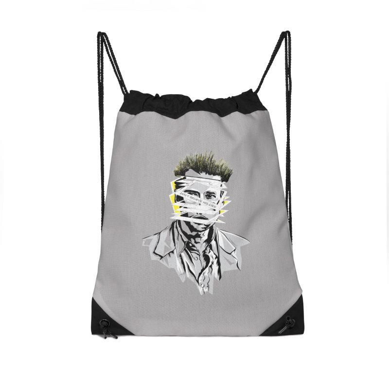 Memento Accessories Drawstring Bag Bag by quadrin's Artist Shop