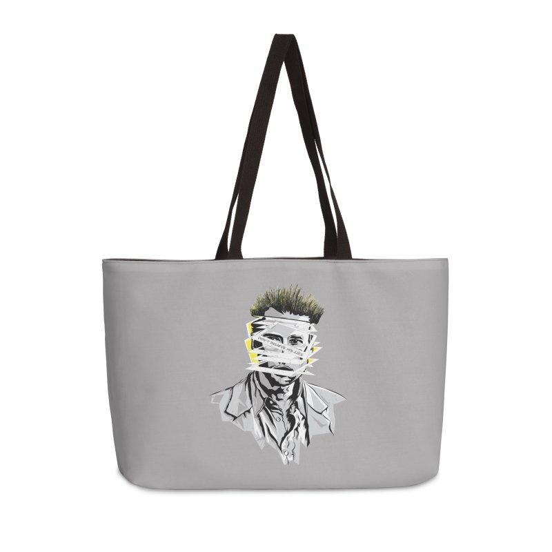 Memento Accessories Weekender Bag Bag by quadrin's Artist Shop