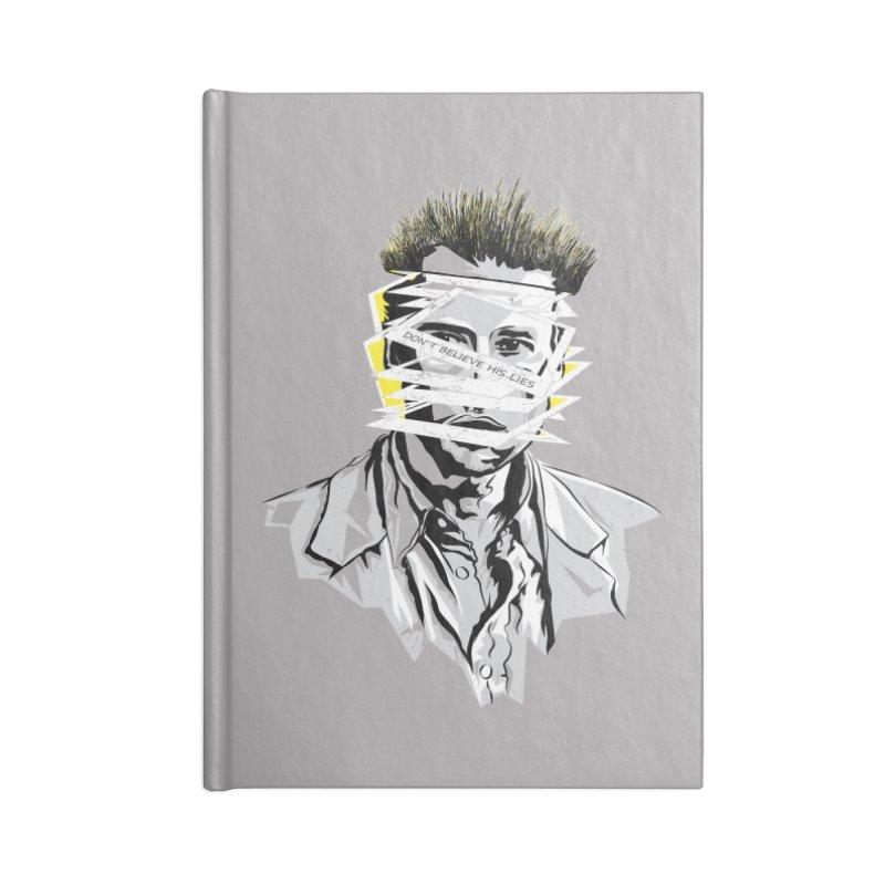 Memento Accessories Blank Journal Notebook by quadrin's Artist Shop