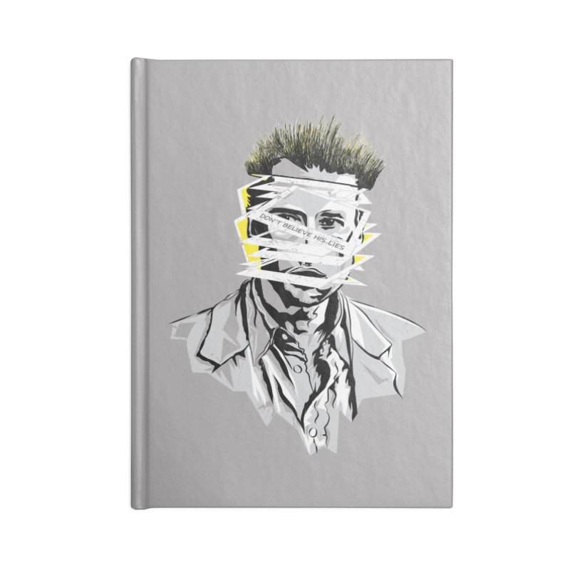 Memento Accessories Lined Journal Notebook by quadrin's Artist Shop
