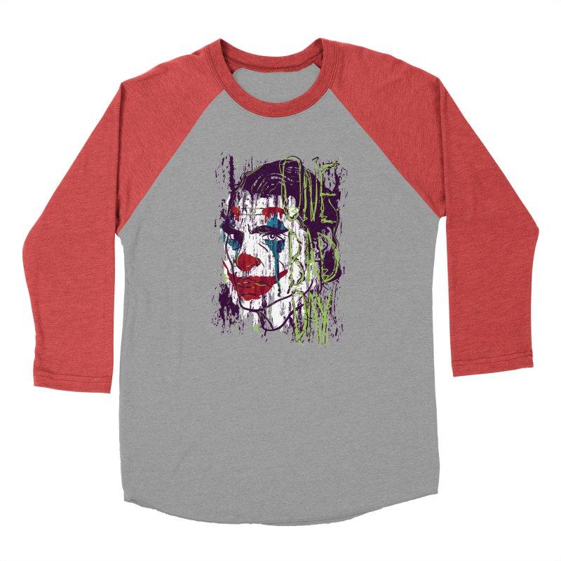 One Bad Day - Joker Women's Baseball Triblend Longsleeve T-Shirt by quadrin's Artist Shop