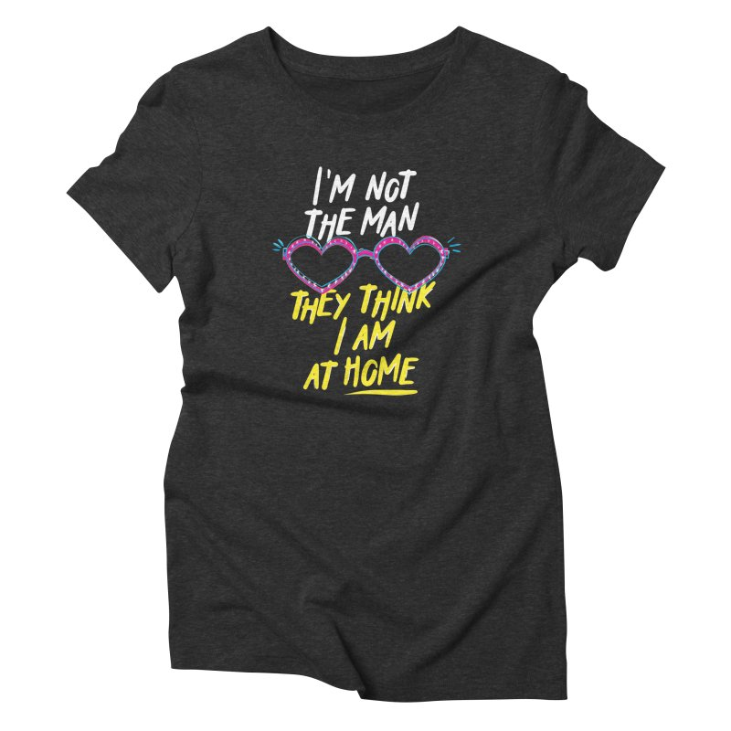 Rocketman Women's Triblend T-Shirt by quadrin's Artist Shop