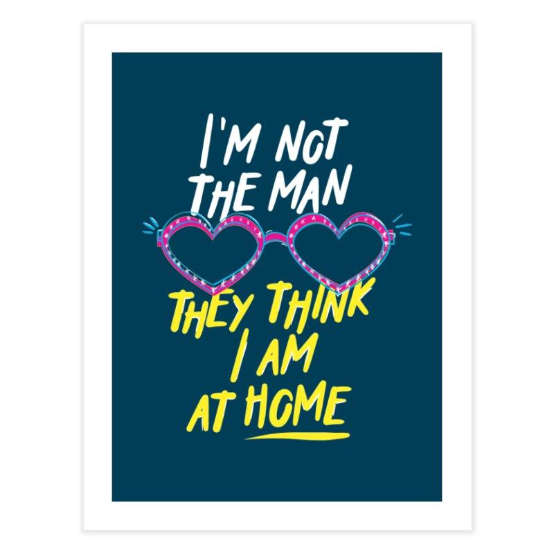 Rocketman Home Fine Art Print by quadrin's Artist Shop