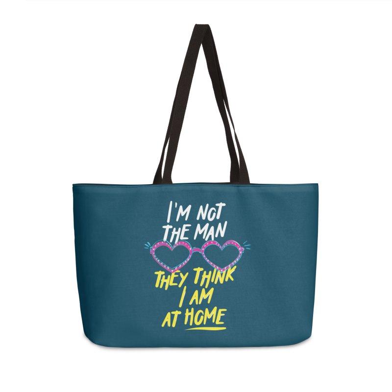 Rocketman Accessories Weekender Bag Bag by quadrin's Artist Shop