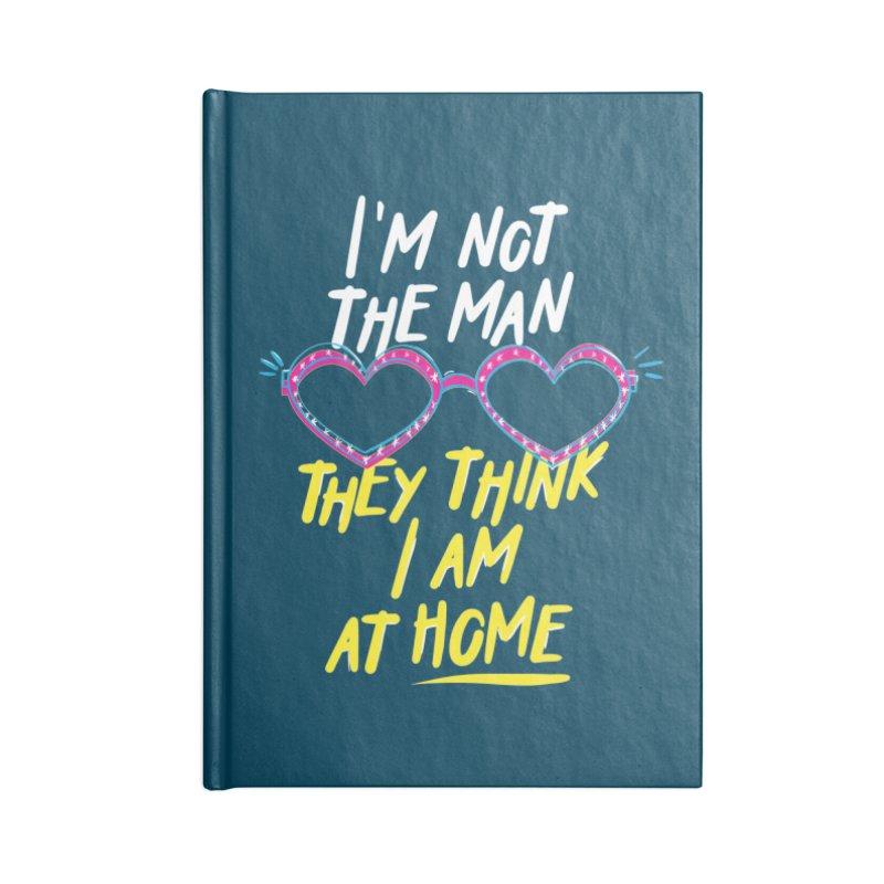 Rocketman Accessories Blank Journal Notebook by quadrin's Artist Shop