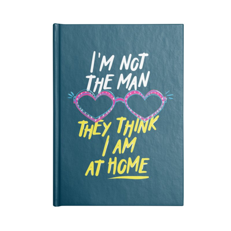 Rocketman Accessories Lined Journal Notebook by quadrin's Artist Shop