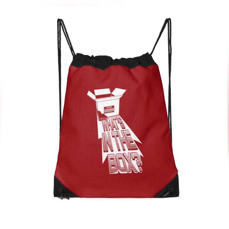 Se7en Accessories Drawstring Bag Bag by quadrin's Artist Shop