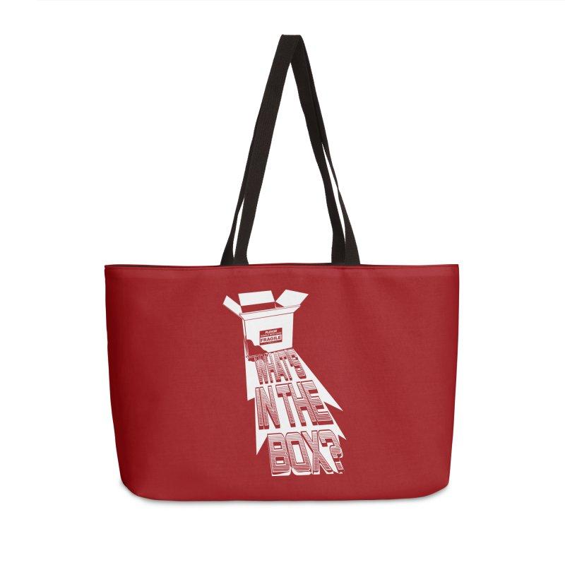 Se7en Accessories Weekender Bag Bag by quadrin's Artist Shop