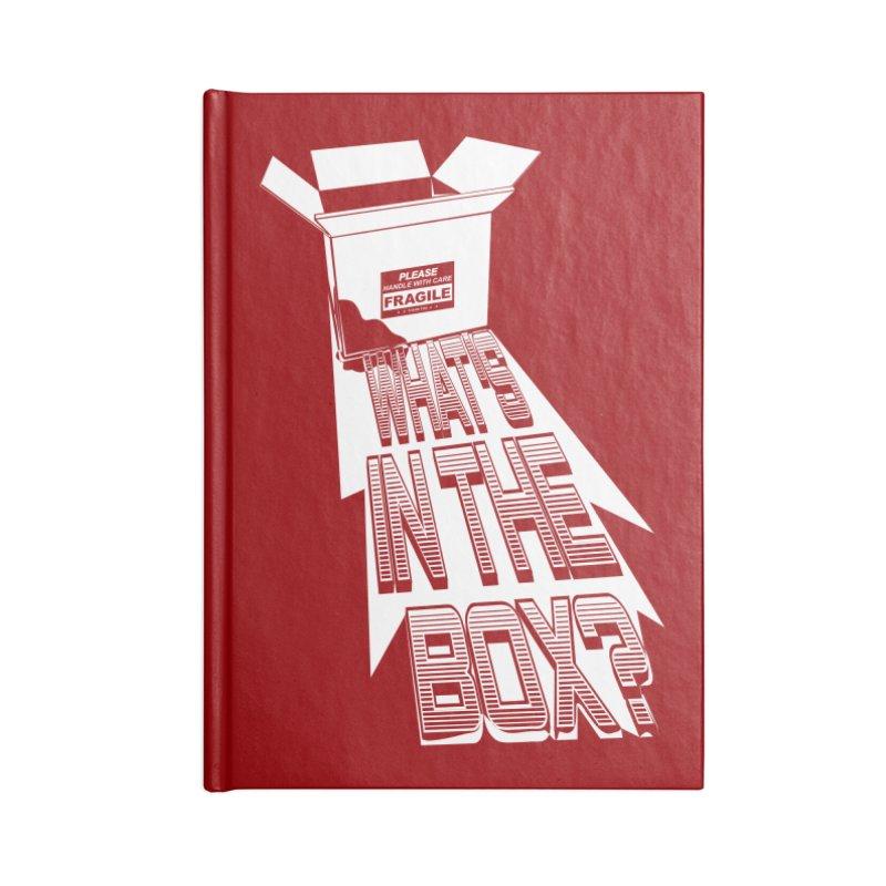 Se7en Accessories Blank Journal Notebook by quadrin's Artist Shop