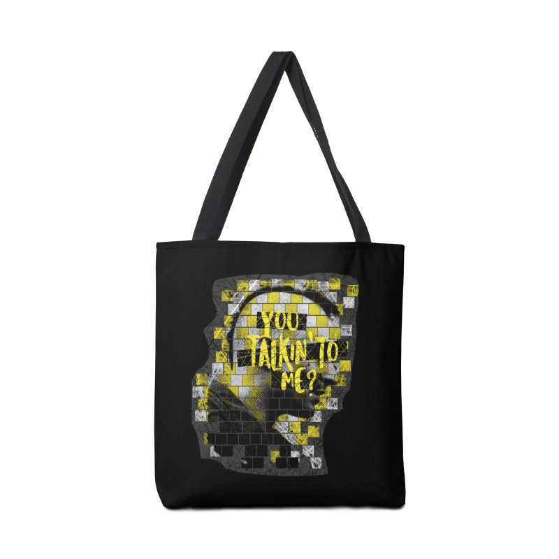 You talkin' to me? Accessories Tote Bag Bag by quadrin's Artist Shop