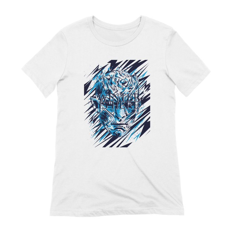 Winter is Here Women's Extra Soft T-Shirt by quadrin's Artist Shop
