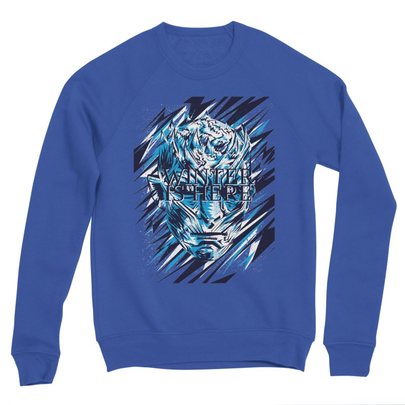 Winter is Here Women's Sponge Fleece Sweatshirt by quadrin's Artist Shop