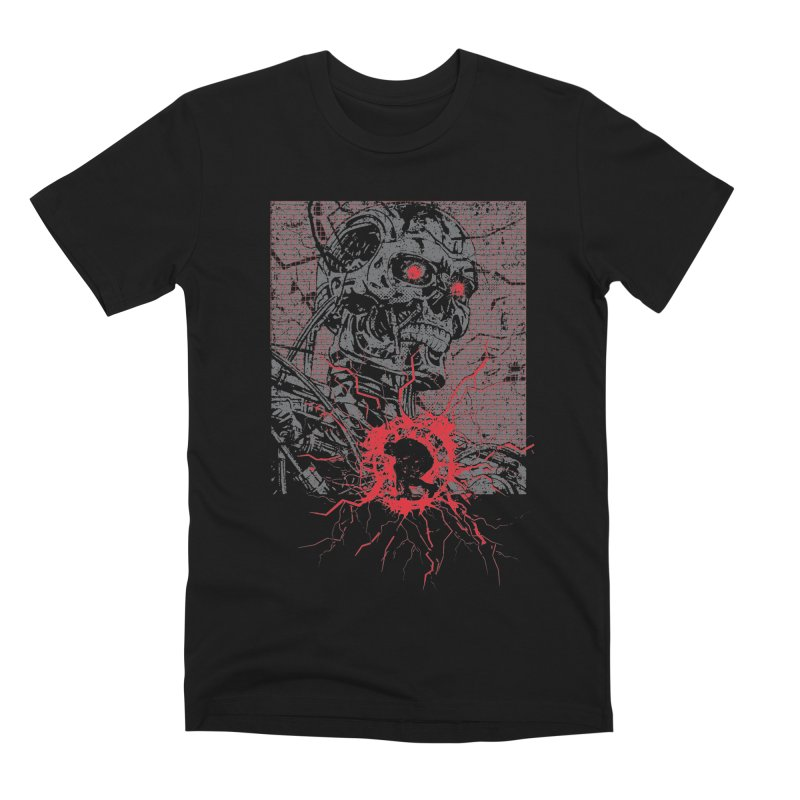 Terminator Men's Premium T-Shirt by quadrin's Artist Shop