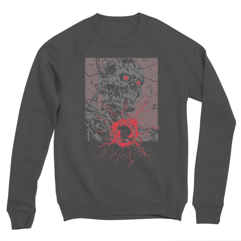 Terminator Women's Sponge Fleece Sweatshirt by quadrin's Artist Shop