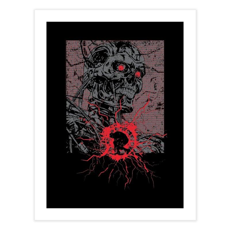 Terminator Home Fine Art Print by quadrin's Artist Shop