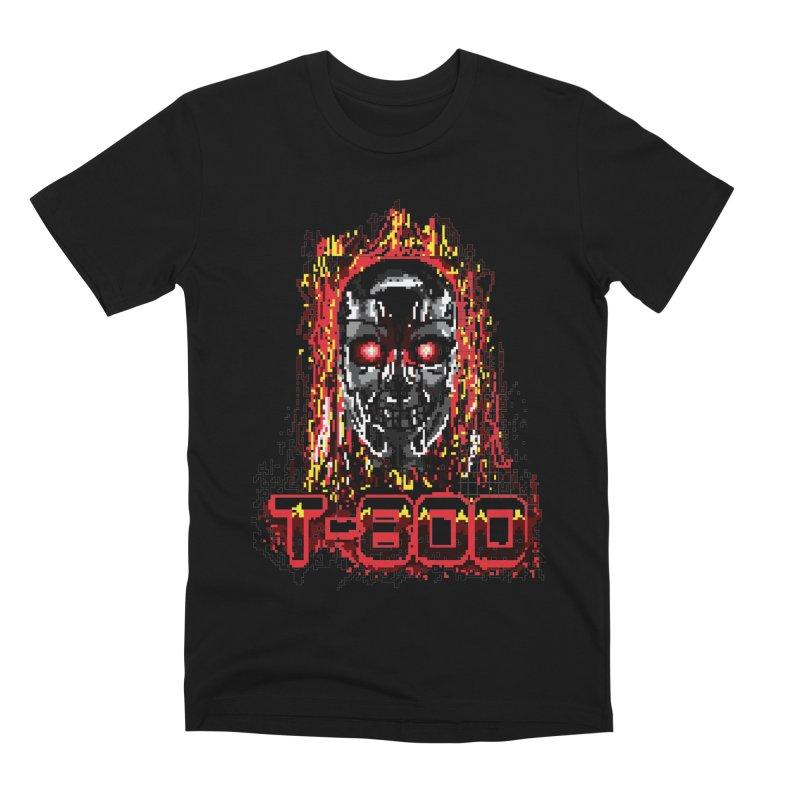 T-800 Men's Premium T-Shirt by quadrin's Artist Shop
