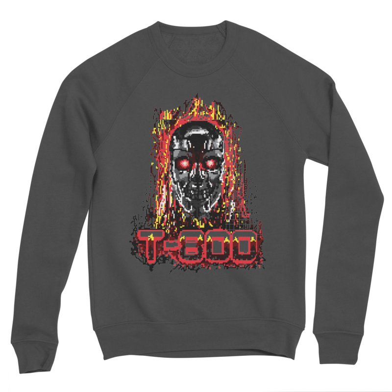 T-800 Women's Sponge Fleece Sweatshirt by quadrin's Artist Shop