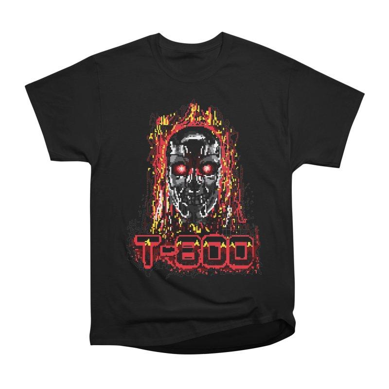 T-800 Women's Heavyweight Unisex T-Shirt by quadrin's Artist Shop