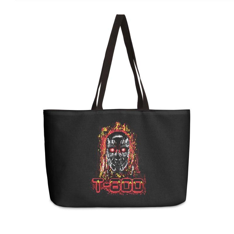 T-800 Accessories Weekender Bag Bag by quadrin's Artist Shop