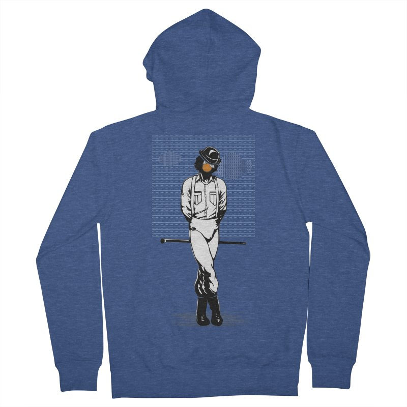 Son of Man Women's French Terry Zip-Up Hoody by quadrin's Artist Shop