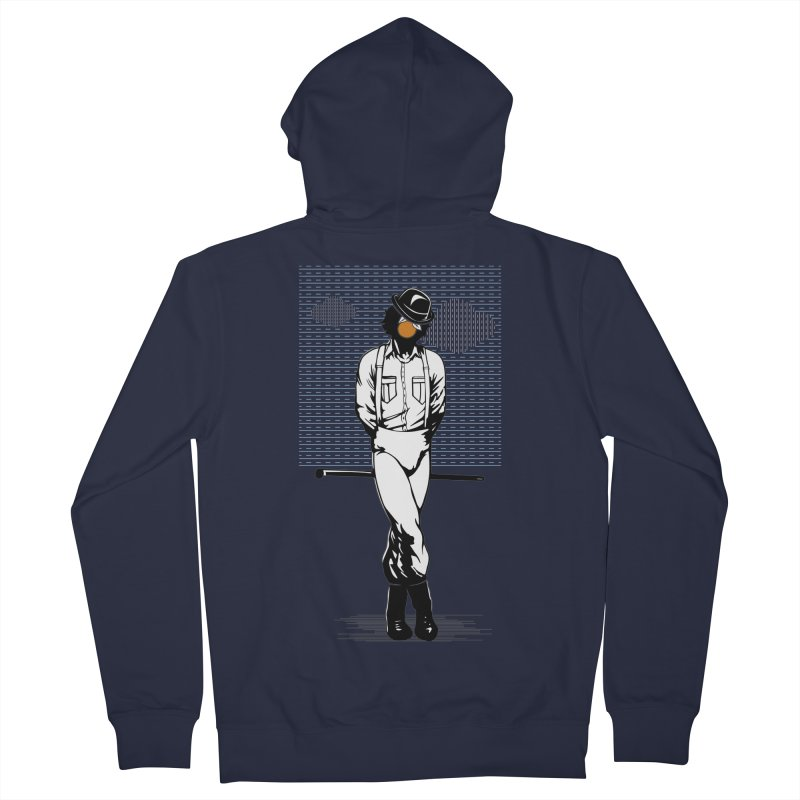 Son of Man Men's French Terry Zip-Up Hoody by quadrin's Artist Shop