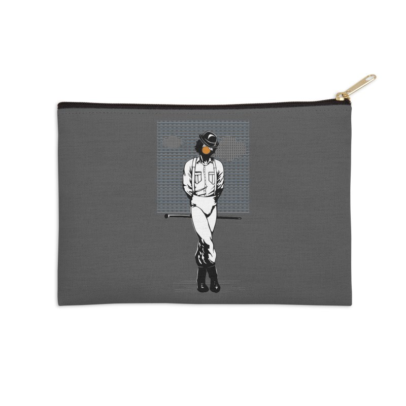 Son of Man Accessories Zip Pouch by quadrin's Artist Shop