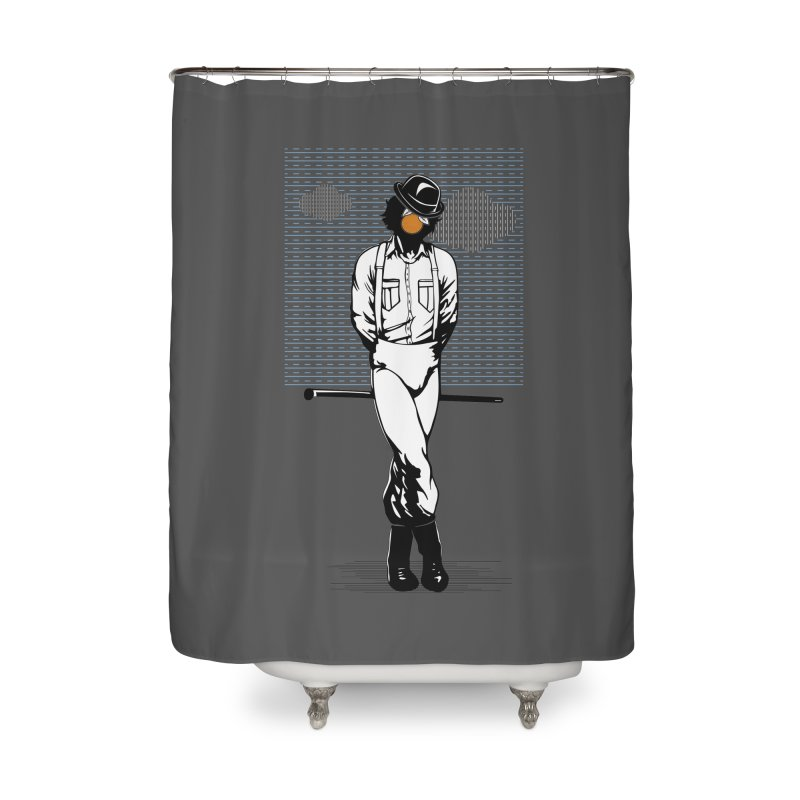 Son of Man Home Shower Curtain by quadrin's Artist Shop