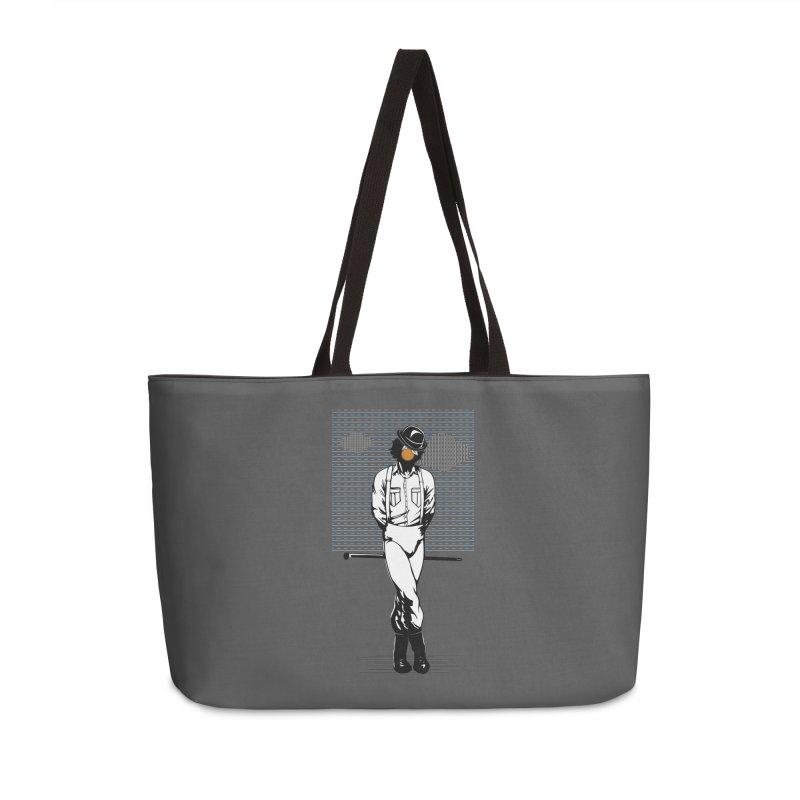 Son of Man Accessories Weekender Bag Bag by quadrin's Artist Shop