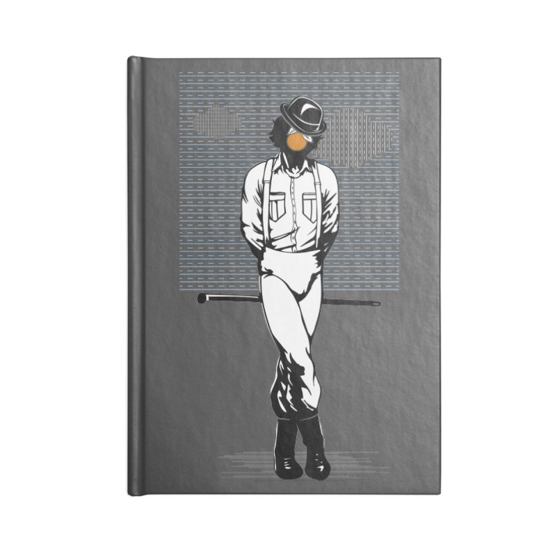 Son of Man Accessories Lined Journal Notebook by quadrin's Artist Shop