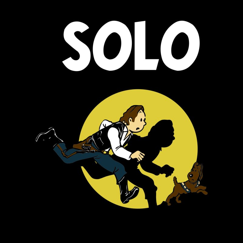 Solo Tintin by quadrin's Artist Shop