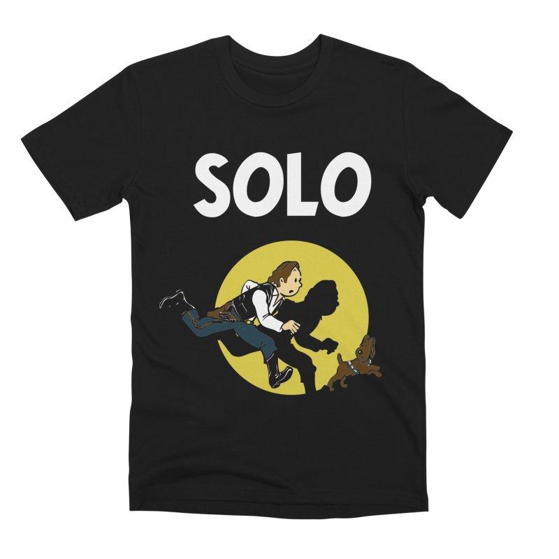 Solo Tintin Men's Premium T-Shirt by quadrin's Artist Shop