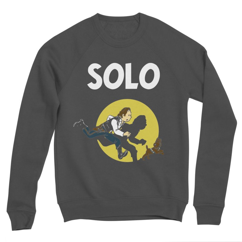 Solo Tintin Women's Sponge Fleece Sweatshirt by quadrin's Artist Shop