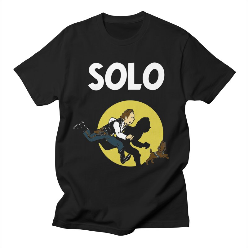 Solo Tintin Women's Regular Unisex T-Shirt by quadrin's Artist Shop