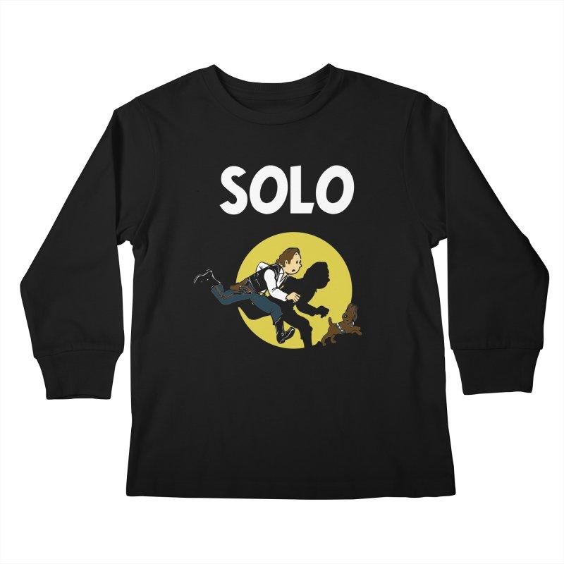 Solo Tintin Kids Longsleeve T-Shirt by quadrin's Artist Shop