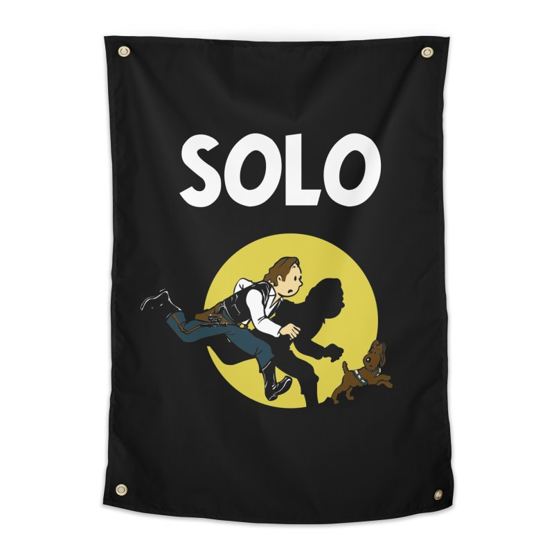 Solo Tintin Home Tapestry by quadrin's Artist Shop