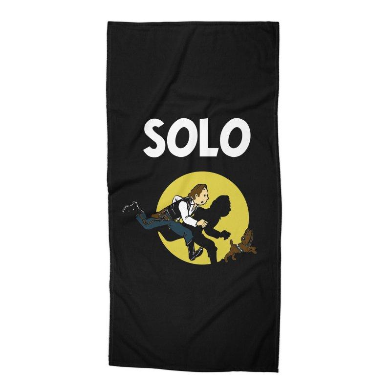 Solo Tintin Accessories Beach Towel by quadrin's Artist Shop